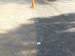 Paver Cleaning and Sanding