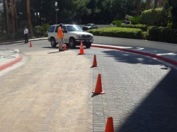 Paver Cleaning & Sanding