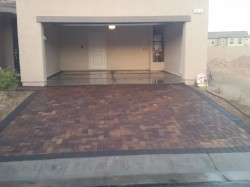 Paver cleaning & Sealing
